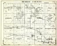 Murray County, Ellsborough, Skandia, Lake Sarah, Holly, Cameron, Dovray, Leeds, Moulton, Minnesota State Atlas 1930c