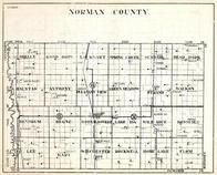 Norman County, Shelly, Good Hope, Lockhart, Spring Creek, Sundahl, Bear Park, Halstad, Minnesota State Atlas 1930c