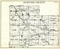 Olmsted County, New Haven, Oronoco, Farmington, Quincy, Salem, Rochester, Marion, Minnesota State Atlas 1930c