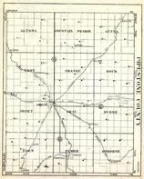 Pipestone County, altona, Fountain Prairie, Aetna, Troy, Grange, Rock, Sweet, Gray, Minnesota State Atlas 1930c