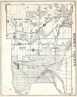 Ramsey County, Mounds View, White Bear, Rose, St. Paul, New Canada. Bald Eagle Lake, Minnesota State Atlas 1930c