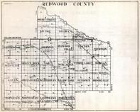 Redwood County, Swedes Forest, Kintire, Delhi, Linderwood, Gales, Westline, Springdale, Johnsonville, Minnesota State Atlas 1930c