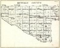 Renville County, Wang, Ericson, Crooks, Winfield, Kingman, Osceola, Brookfield, Minnesota State Atlas 1930c