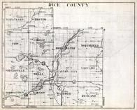Rice County, Wheatland, Webster, Erin, Bridgewater, Northfield, Shieldsville, Wells, Minnesota State Atlas 1930c