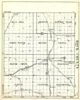 Rock County, Rose Dell, Denver, Battle Plain, Spring Water, Mound, Vienna, Beaver Creek, Minnesota State Atlas 1930c