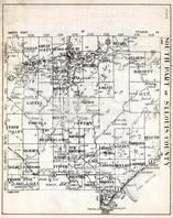 St. Louis County - South, Balkan, Great Scott, Lavell, Cedar Valley, Kelsey, Neadowlands, Van Buren, Prairie Lake, Industrial, Minnesota State Atlas 1930c