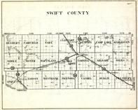 Swift County, Hegbert, Fairfield, Tara, Clontare, Benson, Camp Lake, Moyer, Marysland, Minnesota State Atlas 1930c