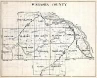 Wabasha County, Mt. Pleasant, Lake Pepin, Chester, Mazeppa, Gillford, Hyde Park, Minnesota State Atlas 1930c