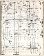 Waseca County, Janesville, Losco, Blooming Groe, Alton, St. Mary, Woodville, Freedom, Minnesota State Atlas 1930c