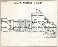 Yellow Medicine County, Florida, Hammer, Oshkosh, Tyro, Lisbon, Friendship, Hazel Runn, Minnesota State Atlas 1930c