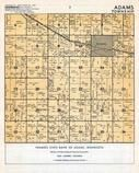 Adams Township, Mower County 1955c