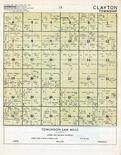 Clayton Township, Mower County 1955c