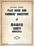 Title Page, Mower County 1955c