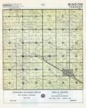 Windom Township, Rose Creek, Mower County 1955c