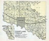 Courtland Township, Nicollet County 1960c