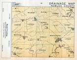 Nobles County Drainage Map, Nobles County 1955c