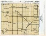 Nobles County Highway Map, Nobles County 1955c