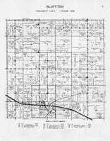 Bluffton Township, Bluff Creek, Mill Creek, Otter Tail County 1946