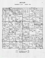 Butler Township, Red Eye River, Lake Edna, Mud Lake, Bear Lake, Otter Tail County 1946