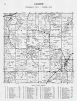 Candor Township, Vergas, Lawrence lake, Coffee, Leek, Trowbridge, Otter, Hand, Hook, Elmwood, Maple Lodge, Otter Tail County 1946