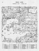 Dead Lake, Township, Marion Lake, Tamarack, Lily, Pine, Indian, Star, Otter Tail County 1946