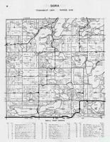 Dora Township, Silent Lakes, Spirit, Wybil, Loon, McDonald, Round, Elbow, William Lake, Otter Tail County 1946