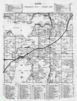 Dunn Township, Pelican Lake, Lake Lizzie, Liberty Beach, Linden Park, Bowery Beach, Robins Wood, Otter Tail County 1946