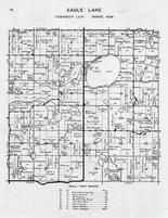 Eagle Lake Township, Bowman Lake, Middle, Torgerson, Swenson, Hancock, Belmont, Jolly Ann Lake, Otter Tail County 1946