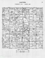 Eastern Township, Lake, Annalaide, Mary, Rice, Maple, Miles, Spruce Creek, Otter Tail County 1946