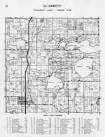 Elizabeth Township, Devils Lake, Reed, Long, Jewett, Claude Moodys Beach, Glenbrook Heights, Svendsgaard Camp, Otter Tail County 1946