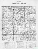 Friberg Township, Otter Tail Lake, Long, Big Stone, Tonseth, Wolf, Sprowl, Johnson, Fogard, Halberger, High Island, Otter Tail County 1946
