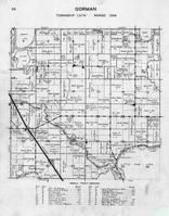 Gorman Township, Little Pine Lake, Devils Lake, Murphy, Silver, Dead, Otter Tail River, Belka Beach, Sunny Beach Resort, Otter Tail County 1946