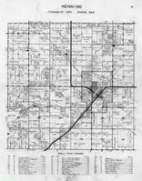 Henning Township, Battle Lake, Willow Creek, Brandborg Creek, Otter Tail County 1946