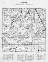 Hobart Township, Rose Lake, Rice, Long, Sybil, Gray, Keyes, Jim, Birch Dale Resort, Scalp Lake, Six, Five, Four, Otter Tail County 1946