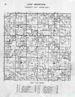 Leaf Mountain Township, Lake Jessie, George, Spitzer, Tom's Lake, Holt, Samson, Olson, Otter Tail County 1946