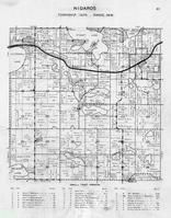 Nidaros Township, Vining, Clitherall Lake, Siverson, Stuart, Belmont, Rix, Bergsten, Spring, East Battle Lake, Otter Tail County 1946