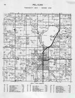 Pelican Township, Pelican Rapids, Prairie Lake, Grove Lake, Otter Tail County 1946