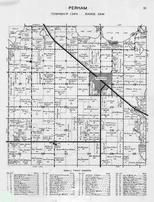 Perham Township, Mud Lake, Little Pine Lake, Otter Tail River, Otter Tail County 1946