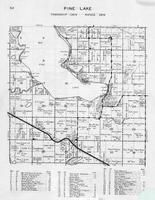 Pine Lake Township, Haberman Lake, Sand Beach, Squaw Point, Grand View Heights, Otter Tail County 1946