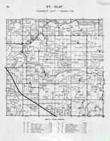 St. Olaf Township, Johnson Lake, Johannes, Beebe, Lacey, Long, Whitman, Sewell, Jolly Ann Lake, Otter Tail County 1946