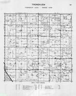 Trondhjem Township, Rothsay, Nelson Lake, Moen, Hovland Lake, Otter Tail County 1946