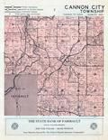 Cannon City Township, Faribault, Rice County 1958