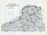 Scott County Road and Ditch Map, Scott County 1940c