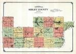 Sibley County Map, Sibley County 1914 Published by Webb Publishing Company