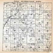 Huntersville Township, Crow Wing River, Wadena County 1920c