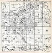 Meadow Township, Yeager Lake, Wadena County 1920c
