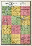 Waseca County Outline Map, Waseca County 1914