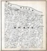 Homer Township, Lamoil, Pickwick, Winona County 1867
