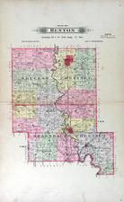 Bentownship, Bolckow, Rosendale, Rush, Andrew County 1909