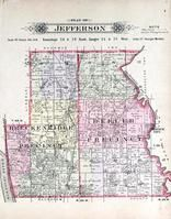 Jefferson Township, Breckenridge, Beller, Avenue City, Missouri River, Andrew County 1909